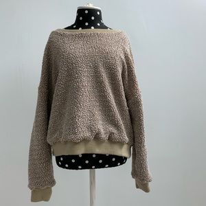 Over-sized Oatmeal Sweater